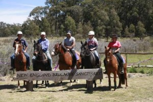 Official Opening New England Brumby Sanctuary 2008