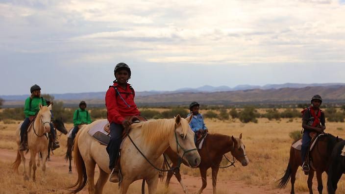 Horse riding alice springs