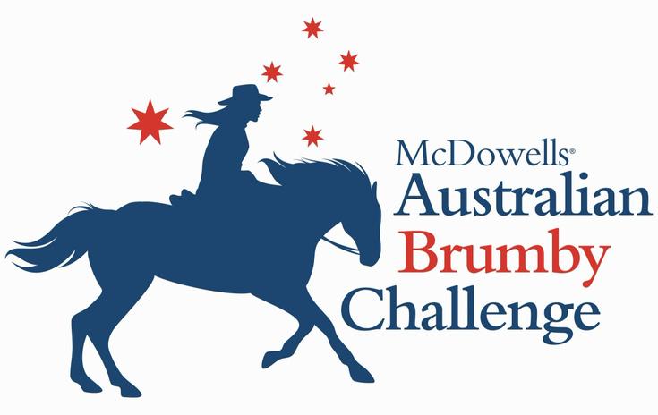 McDowells Australian Brumby Challenge Logo