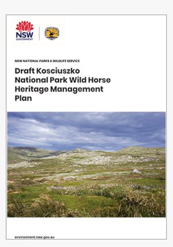 KNP draft Horse Management plan